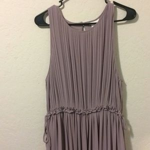 H&M lavender dress